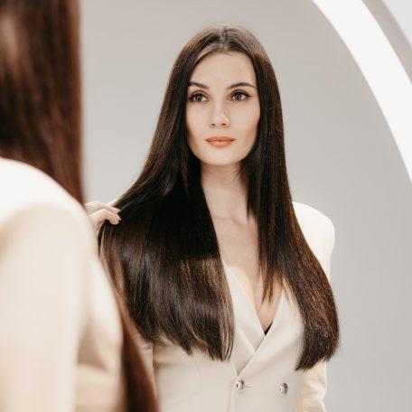 Kristýna Schicková, po prodloužení vlasů